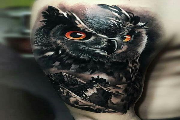 Что означает тату сова у мужчин