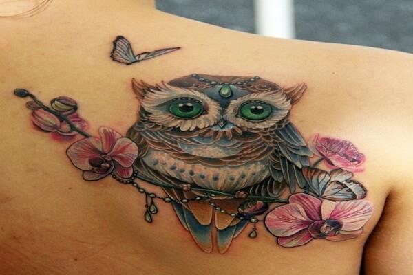 Что означает тату сова для мужчин и девушек