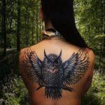 Что означает тату сова