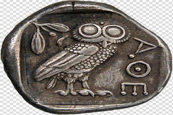 Совы на монетах Древней Греции