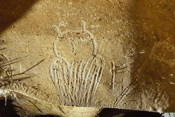 Совы в древней наскальной живописи