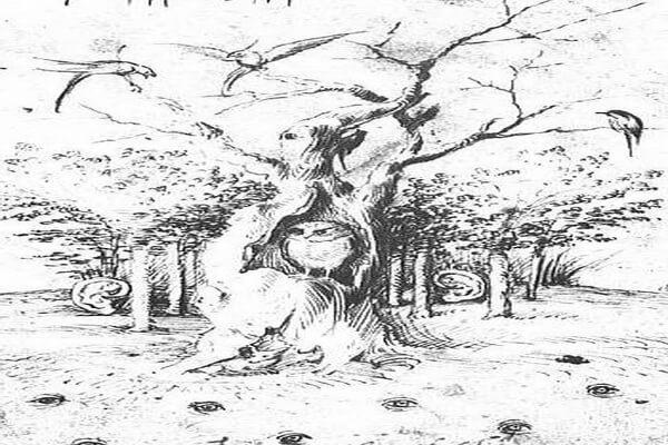 Сова в живописи Босха - Картина «У леса уши, у поля глаза»