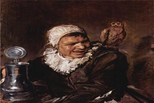 Сова на картине Франца Хальса «Безумная Барбара»