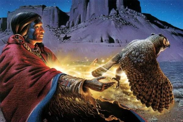 Что символизирует сова - Посредница между миром живых и мёртвых