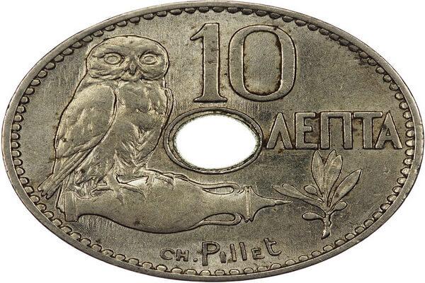 Совы на современных монетах