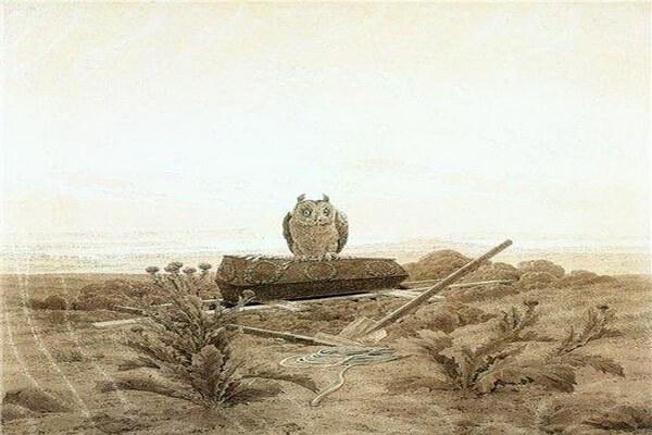 Совы в живописи Каспара Давида Фридриха
