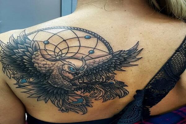 Значение татуировки филин для женщин