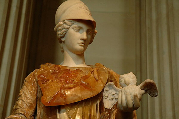 Сова как символ мудрости у древних греков